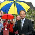 Christian Lindner bei einer Wahlkundgebung