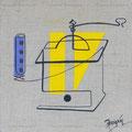 Moulin jaune - Claude Rossignol