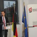 Jörg Siegmund bei der Deutschen Gesellschaft e.V. in Berlin zum Thema 20 Jahre Erstes SED-Unrechtsbereinigungsgesetz