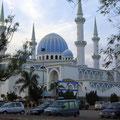 クアンタン市内の美しいモスク