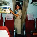 """Die Zeit als Stewardess bei """"Interflug"""""""