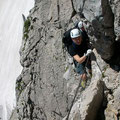 In der Gipfelwand der Zugspitze