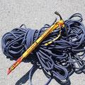 Seil und Pickel gehörten zur Ausrüstung