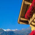 Schöne Aussicht auf das Kitzsteinhorn