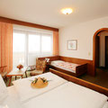 Doppelzimmer der Pension Hauserhof in Salzburg