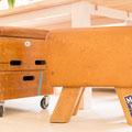 Hocker aus Trunbock gefertigt