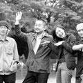 宣伝ビジュアル:『宇宙猿』(西田シャトナー演劇研究所/2006年)