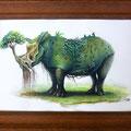 """""""Wächter des Waldes"""" (Rhino)"""