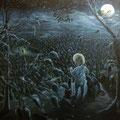 """""""Die Dunkelheit beschert einem treue Gefährten"""" (120 x 100)"""