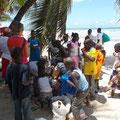 Gruppenfoto mit fast allen Familien die von Daniela betreut werden.....