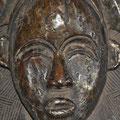 PUNU LUMBO - GABON - BOIS, CUIVRE - 45 CM DE HAUTEUR - 28 CM DE LARGEUR