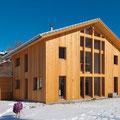 Wohnhaus Holz Elemente Sagogn