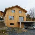 Ferienhaus aus Holzelementen in Vignogn