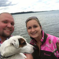 Während der 8stündigen Fahrt gönnten wir uns am Chiemsee eine Pause