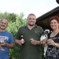 """""""Amstel vom Woisbach"""" heißt jetzt Maya und jagt gemeinsam mit 2 Dackeln und 1 Labrador bei Fam. Hulha in Niederösterreich!"""