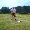 2tägiges Schweißhundeführerseminar mit Kira am Pirkdorfersee