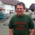 Baujagd erste Jännerwoche 2013: Der Organisator und einladende Baujagdspezialist ALEX GESSLER, mein absolutes Hundeführer-Idol!!!