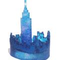 「Landscape-city-」2013年 ガラス、銅箔
