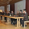 der Ausschuss mit den Ehrengästen