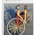 A project by stundets from Berlin/Brandenburg (NaWaRo) sets new standards in sustainable bike design utilising regional construction & ressources: linseed oil, cork grips, bio-plastic lamps, a beech wood frame, bamboo spokes, and hemp fittings.