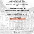 Euthymia-Urkunde - Eine von drei Urkunden