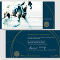 Einladungskarte - Rotaryclub Wesel-Dinslaken