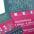 Printmedien zur Ausstellung - Frauen der Voerder Geschichte