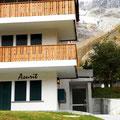 Haupteingang zum Haus Azurit