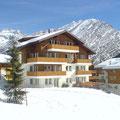 Ferienhaus Azurit im Winter