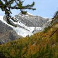Gletscher- und Bergwelt