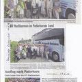 06.06.2018  Presseartikel Bustour nach Paderborn