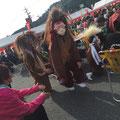 神楽の演舞②