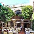 Cordoba - Patio eines Restaurants