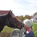 Bärbel als Pferdeflüsterin