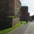 ... und entlang der Altstadtmauern.