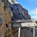 Caminito del Rey - und noch einmal die Brücke