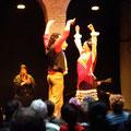 Sevilla - Show im Flamencomuseum.