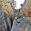 Caminito del Rey - zweite Schluchtpassage