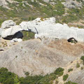 "Felsformationen im  ""Parc national des Calanques"" ."
