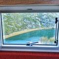 Zrmanja-Canyon - Blick aus unserem Wohnzimmerfenster