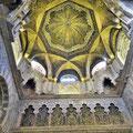 Cordoba - Mezquita - erhaltengebliebene maurische Elemente