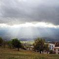Chefchaouen - Blick auf das Tal vom CP.