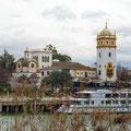Blick von unserem Stellplatz am Rio Guadalquivir.