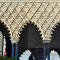 Sevilla - Real Alcázar - Säulengang