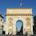 Arc de Triomphe in Montpellier.