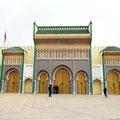 Fes - Tor des Königspalastes.