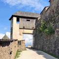 Oberstes Wehrtor Burg Hochosterwitz in Kärnten