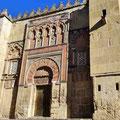 Cordoba - Außenmauern der Mezquita