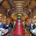 Porto - Buchhandlung Livraria Lello e Irmão.