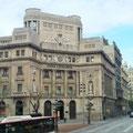 Straßenansicht Barcelona.